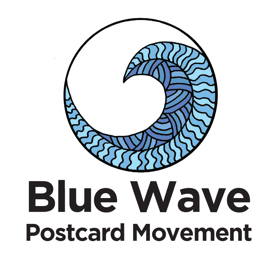 Blue Wave Postcard Movement